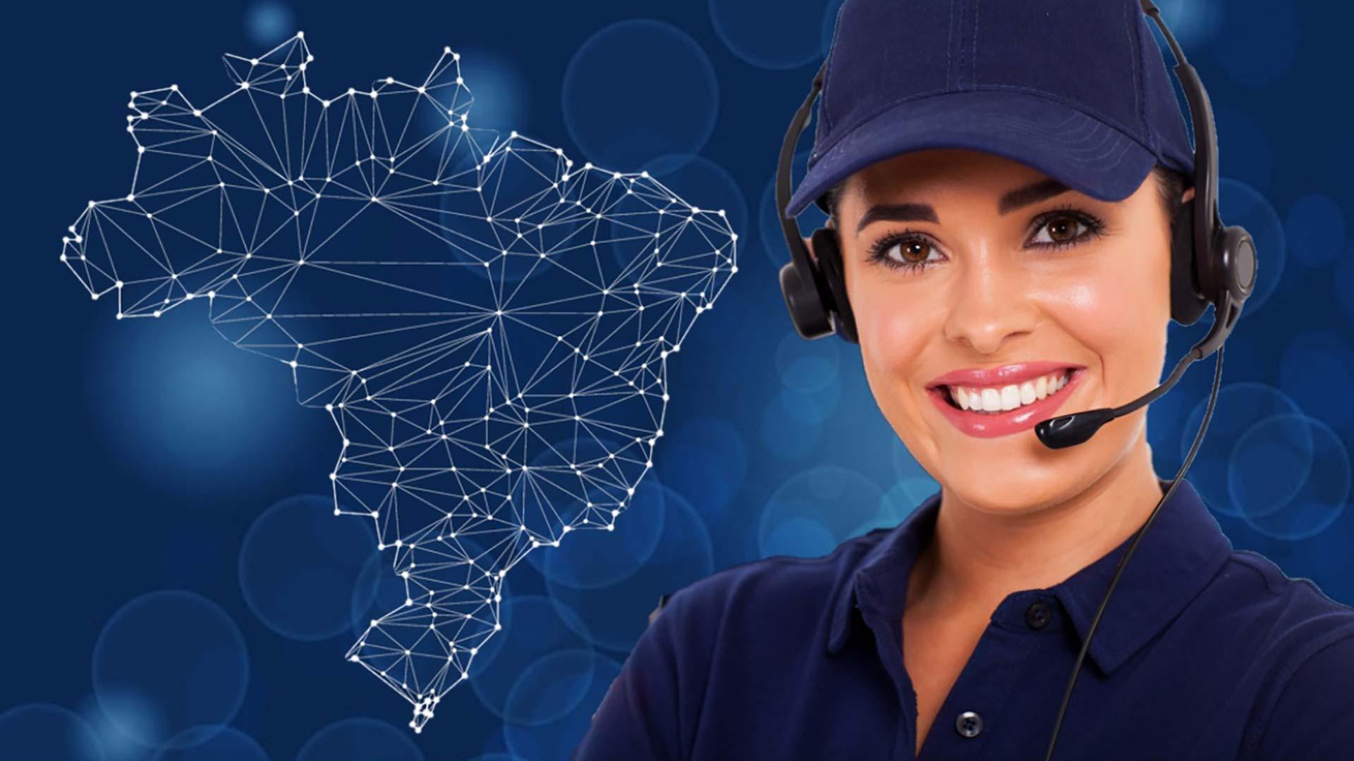 rede de suporte nextvision cobertura nacional com tele atendimento